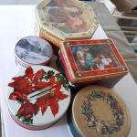 Lot of Vintage Collectors Tins