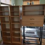 Stackable bookshelf cubes
