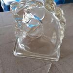 Vintage Glass Horse