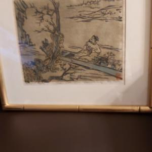 Photo of Korean Woodcut Paintings