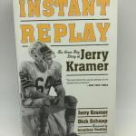 "Autographed book Jerry Kramer ""Instant Replay""."