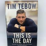 "Autographed book Tim Tebow ""This is the Day"" 1st edition."