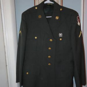 Photo of Military Uniform