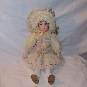 Photo of Porcelain Doll with blonde