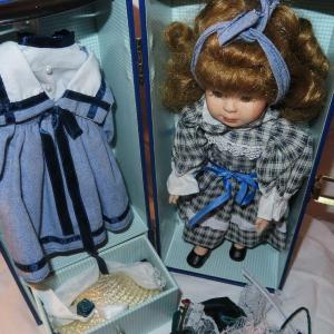 Photo of Porcelain Doll In Box