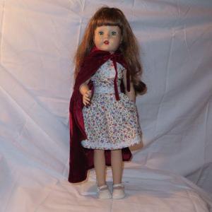Photo of Porcelain Doll Flowered Dress