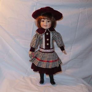 Photo of Porcelain Doll with short red hair