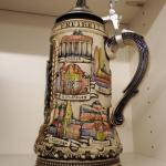 Various Authentic German Beer Stein - Decorative Collectible Glass - Cultural He