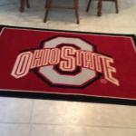 Ohio State carpet