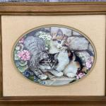 Franklin Mint Framed Porcelain Prints