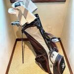 Set of Pristine Golf Clubs plus Extra Equipment