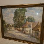 Large W. Lee Hankey painting