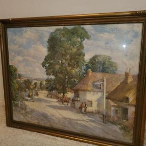Photo of Large W. Lee Hankey painting