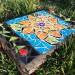 Mosaic yard Art