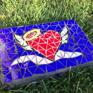 Photo of Mosaic yard stones