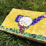 Mosaic yard stones