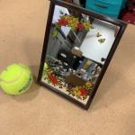 #366 Vintage Musical Mirror- Plays Love Story