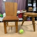 #363 Tiny Antique Chairs