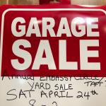 Annual Embassy Circle/Taft RD neighborhood  Yard Sale