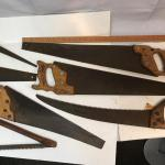 Lot of 8 hand saws