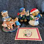 Lot 196  Windsor Christmas Bears of Cranberry Commons