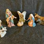 Lot 198  Ceramic Nativity