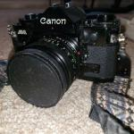 Vintage Canon A-1, 35mm SLR camera with more!
