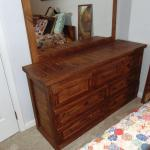 Vintage This End Up Dresser with Mirror