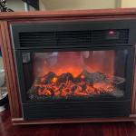 Heat Surge Electric Fireplace/Space Heater