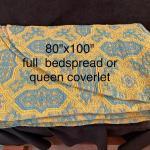 Vintage 70s Bedspread/coverlet
