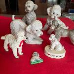 Lot of Poodle Figurines