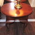 Contemporary Queen Anne Style Table