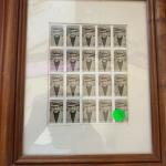 United States Black Heritage Longston Hughes 2002 mnh stamps w frame