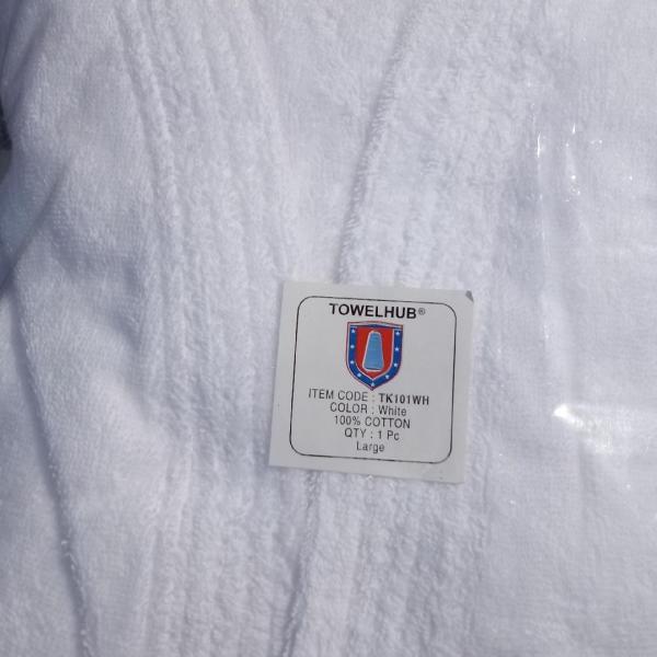 Photo of LARGE PLUSH TERRY CLOTH ROBE