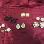 Lot 37 - (6) Statement Earrings