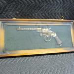 Lot 279 - TMC Chicago Western Pistol Shadow Box