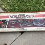 Lot 213  Regulation Horse Shoe Pitch Game