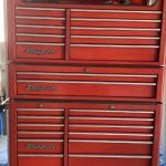 LOT 297  SNAP-ON RED TOOL CHEST