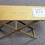 Child's Wooden Ironing Board Advertising Commercial Oil Company