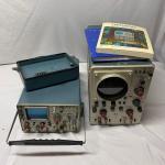 Lot 205 - Tektronix Oscilloscopes 453A & 503 Models & Manuals
