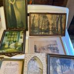 Lot 179G. Small vintage prints--$30