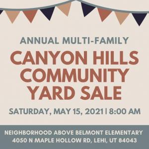 Photo of Canyon Hills Lehi Community Yard Sale
