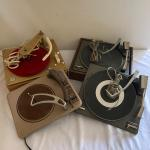 Lot 325 - Two Model 990A Knight Turntables, a Marconi Type A-517-056 Turntable,