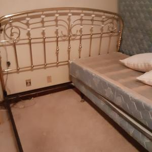 Photo of Antique king bed