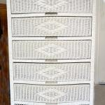 Rattan Chest and Headboard