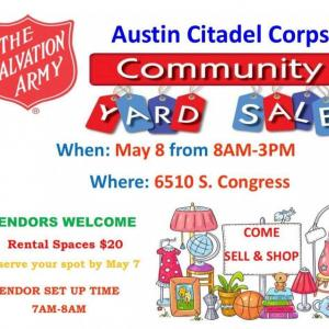 Photo of Austin Citadel Corps Community Yard Sale