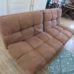"70"" Futon With Adjustable Headrests"