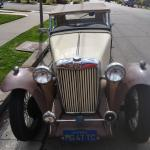 MG TC FOR SALE 1947