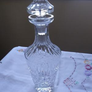 Photo of WATERFORD CRYSTAL WINE DECANTER