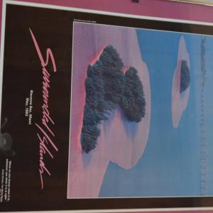Photo of SURROUNDED ISLAND POSTER- CRISTO 1983 RARE LIMITED EDITION